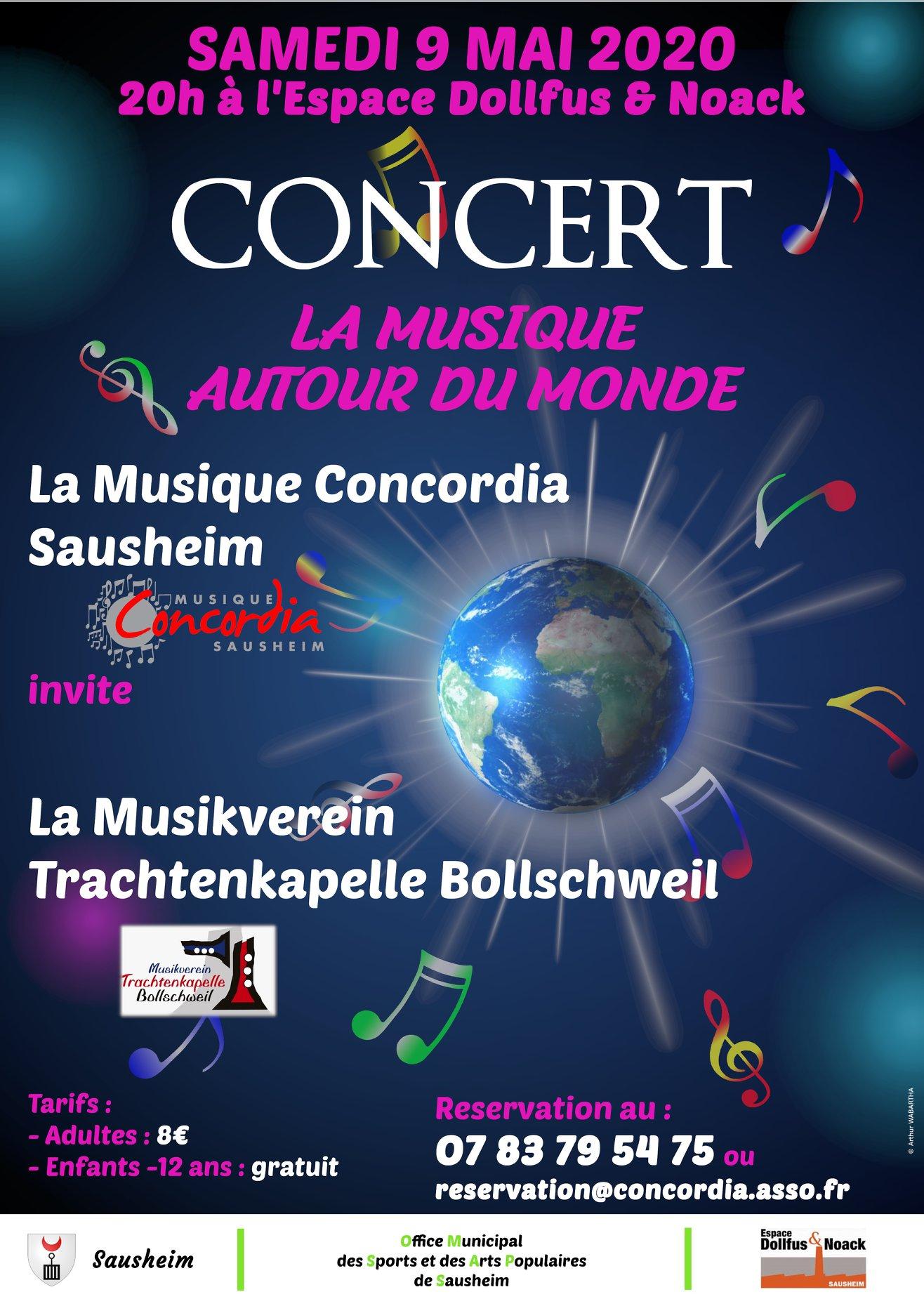 Concert «La musique autour du monde»